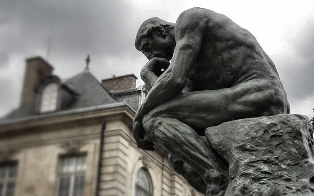 hinking about Life, Rodin's The Thinker