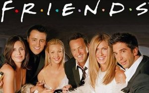 The Friends from the TV series