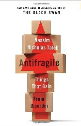 Book Cover Antifragile by Nassim Taleb