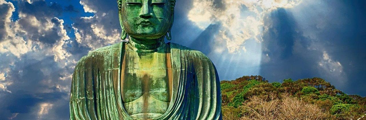 Green Buddha Statue