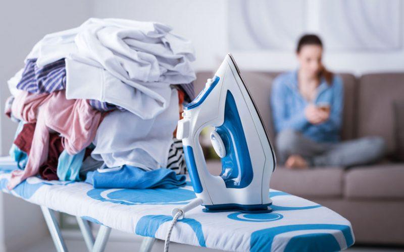 Laundry pile procrastination