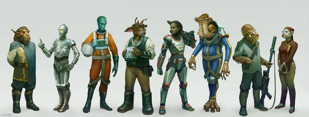 Star Wars Species