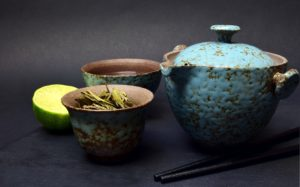 Tea Ceremony, cup and pot