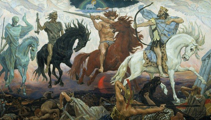 The Four Horsemen Illustration