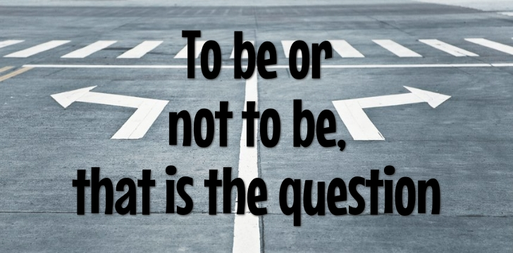 to be or not to be quote image