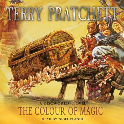 Colour of Magic Audiobook Cover