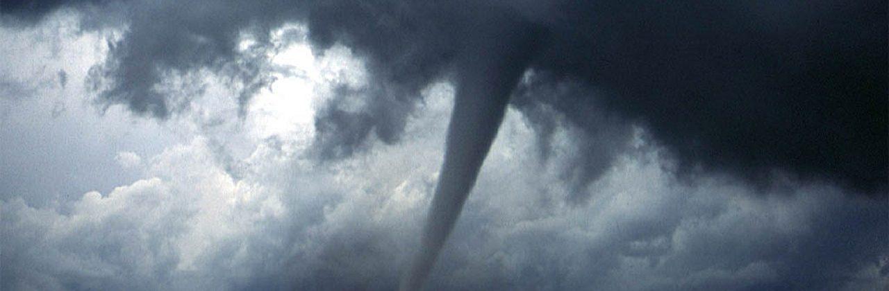 Tornado and a storm
